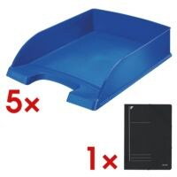LEITZ Briefablage 5227 Plus, A4 Polystyrol, stapelbar bis 12 Stück
