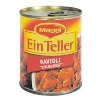 Maggi Ravioli »Bolognese - Ein Teller«