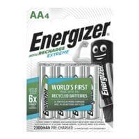 Energizer Akkus Mignon / AA / HR6 (4 Stk - 2300 mAh)