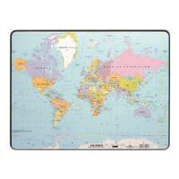 Durable Schreibunterlage »Weltkarte«