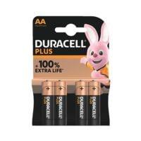 Duracell 4er-Pack Batterien »Plus Power« Mignon / AA / LR06