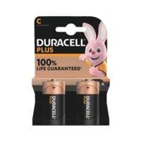 Duracell 2er-Pack Batterien »Plus« Baby / C / LR14