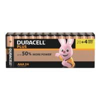 Duracell 24er-Pack Batterien »Plus Power« Micro / AAA / LR03