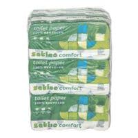 Satino comfort Toilettenpapier 3-lagig, hochweiß - 72 Rollen (9 Pack à 8 Rollen)