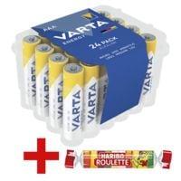 Varta 24er-Pack Batterien »Energy« Micro / AAA / LR03 inkl. Fruchtgummi »Roulette«