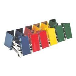 Alco Foldback-Klammern 41 mm, mehrfarbig, 12 Stück
