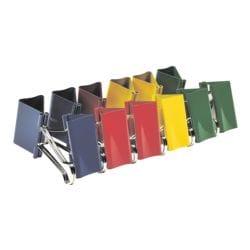 Alco Foldback-Klammern 51 mm, mehrfarbig, 12 Stück