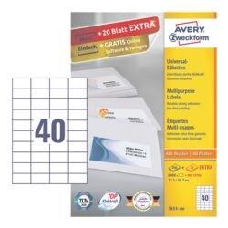 Avery Zweckform 8800er-Pack Universal Klebeetiketten »3651-200«