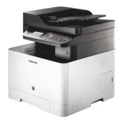 Samsung CLX-4195FN Multifunktionsdrucker, A4 Farb-Laserdrucker, 9600 x 600 dpi, mit LAN