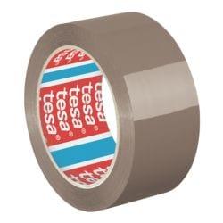 Packband tesa 4195, 50 mm breit, 66 Meter lang - leise abrollbar