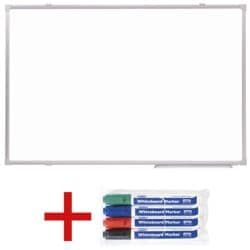 OTTO Office Whiteboard, 60 x 45 cm inkl. 4er-Pack OTTO Office Whiteboard-Marker
