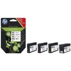 HP Tintenpatronen-Set HP 950XL + HP 951XL Multipack, schwarz, cyan, magenta, gelb - HP C2P43AE