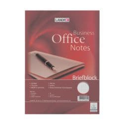 Landré Briefblock Work, A4, kariert, 50 Blatt, ohne Register
