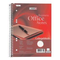 Landré Collegeblock Work, A5, kariert, 80 Blatt, ohne Register