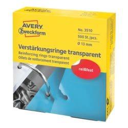 Avery Zweckform Verstärkungsringe »3510 / 3508« gegen Ausreißen