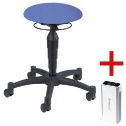 Topstar Sitzhocker »Balance 10« inkl. Ladegerät für Smartphones/Tablets »Powerbank«