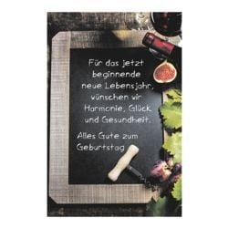 Postkarte LUMA KARTENEDITION Geburtstag, Sonderformat, ohne Umschlag, 10 Stück