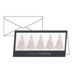 Weihnachtskarte Sigel Business Geetings, DIN lang, mit Umschlag, 10 Stück
