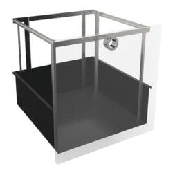 viasit h ngeregistereinsatz f r schmale regale system 4. Black Bedroom Furniture Sets. Home Design Ideas