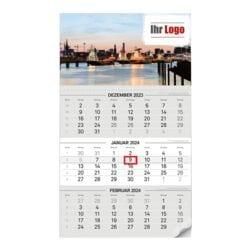 Individualisierbare 3-Monats-Kalender 2020