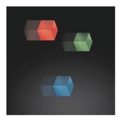Sigel 3er-Set Magnetwürfel Farbmix »SuperDym-Magnete«