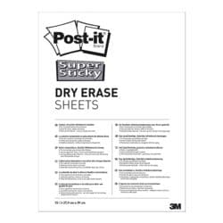 Post-It Whiteboardfolien »Super Sticky Dry Erase« DEFPACKL-EU