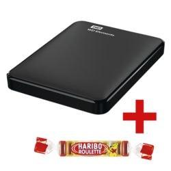 Westerndigital Elements 1 TB, externe HDD-Festplatte, USB 3.0, 6,35 cm (2,5 Zoll), inkl. Fruchtgummi »Roulette«