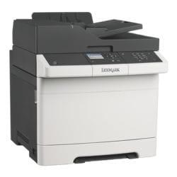 Lexmark CX317dn Multifunktionsdrucker, A4 Farb-Laserdrucker, 1200 x 1200 dpi, mit LAN und aufrüstbar mit WLAN - 4 Jahre Herstellergarantie
