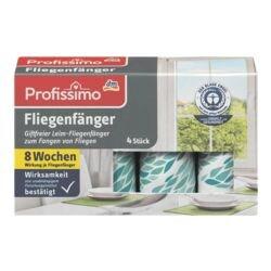 Profissimo 4er-Pack Fliegenfänger
