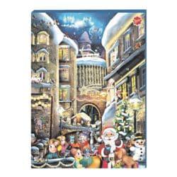 Friedel Adventskalender »Weihnachtsmann unterwegs« (verschiedene Motive)