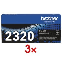 Brother 3x Toner »TN-2320«