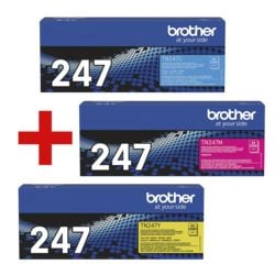 Brother 3er-Set Jumbo-Toner »TN-247C/M/Y«