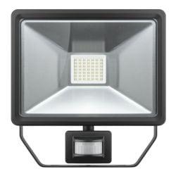 goobay LED Außen-Flutlichstrahler mit Bewegungsmelder 50 W schwarz