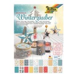 folia Motivblock »Winterzauber«
