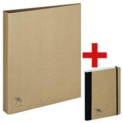 Pagna Ringbuch A4 »Pur« inkl. Notizbuch A5 »Pur«