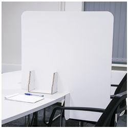 cartonia 5er-Pack Nies- und Spuckschutz / Papptrennwände für Tische 79 x 70 cm
