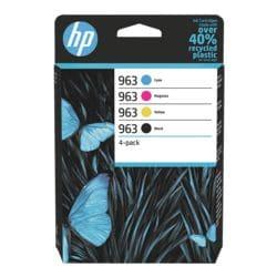 HP Tintenpatronen-Set HP 963 CMYK, cyan, magenta, gelb, schwarz - 6ZC70AE