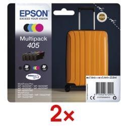 Epson 2x 4er-Pack Tintenpatronen »405«