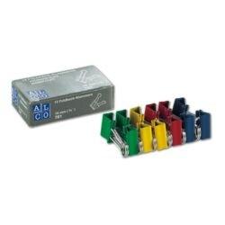 Alco Foldback-Klammern 19 mm farbig