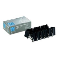 Alco Foldback-Klammern 32 mm, schwarz, 12 Stück
