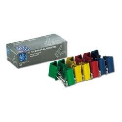 Alco Foldback-Klammern 32 mm, mehrfarbig, 12 Stück