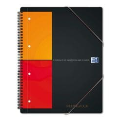 Oxford Collegeblock International Meetingbook, A4, kariert, 80 Blatt