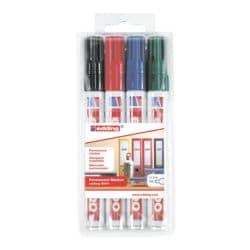 edding Permanent-Marker-Set 3000 - Rundspitze, Strichstärke 1,5  - 3,0 mm