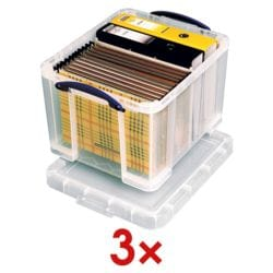 Really Useful Box 3x Ablagebox 35 L