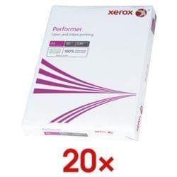 20x Kopierpapier A4 Xerox Performer - 10000 Blatt gesamt, 80g/qm