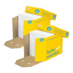 2x Öko-Box Multifunktionales Druckerpapier A4 Data-Copy Everyday Printing - 5000 Blatt gesamt, 80 g/m²