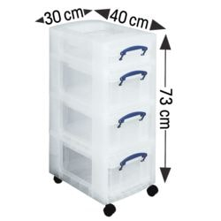 Really Useful Box Boxenturm, 4 l und 3x 9 l