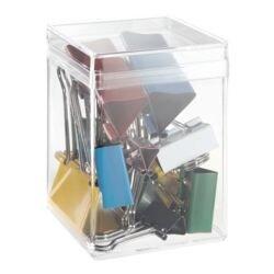 Alco Foldback-Klammern-Mix, mehrfarbig, 12 Stück