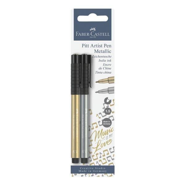Faber-Castell 2er-Pack Tuschemarker »PITT artist pen«