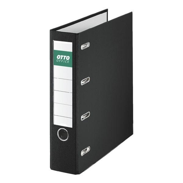 Doppelordner 2x A5 quer OTTO Office breit, einfarbig
